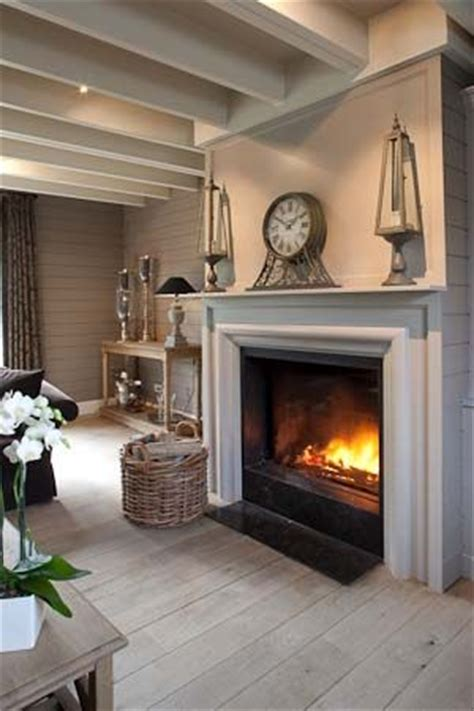 Neutral Living Room With Fireplace Beautiful Neutral Colours In This Living Room The
