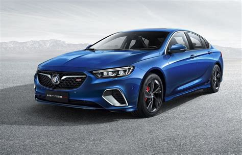 2018 buick regal rs revealed previews next commodore ss