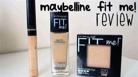 Maybelline Fit Me Foundation Review Indonesia maybelline fit me matte poreless review foundation