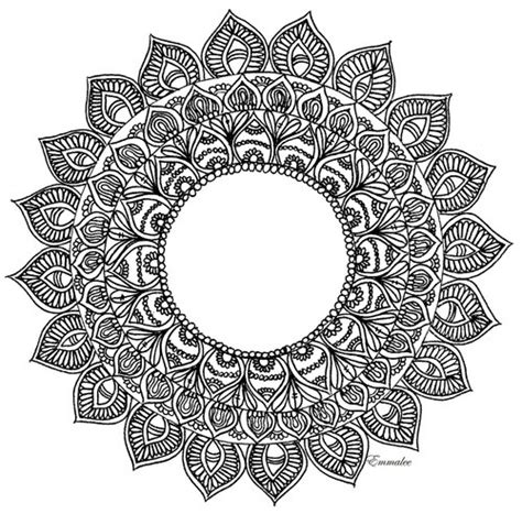 transparent mandala