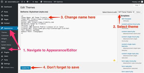 how to change wordpress template images templates design