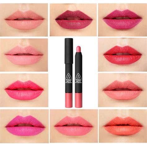3ce Matte Lip Crayon 3ce 3 concept stylenanda matte lip crayon matte