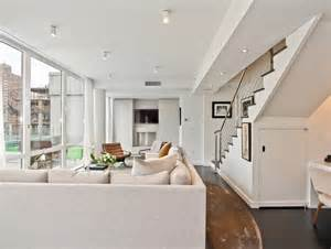 chelsea duplex nyc interior design