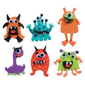 Kids Craft Store - mini foam monster magnets kit shop geddes