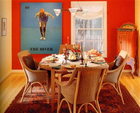 orange home decor accents home decor ideas for dining room