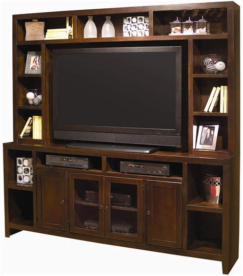 aspenhome essentials lifestyle entertainment wall with 84