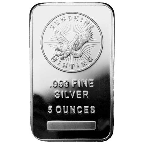 10 Oz Silver Bar Worth - buy 5 oz silver bars brand new l jm bullion