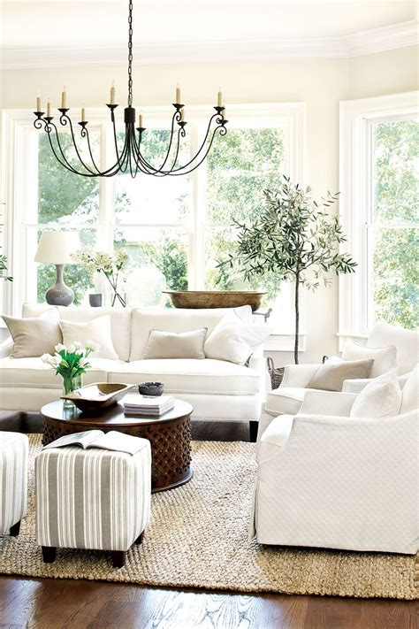 white couch living room decorating with neutrals washed color palettes how to