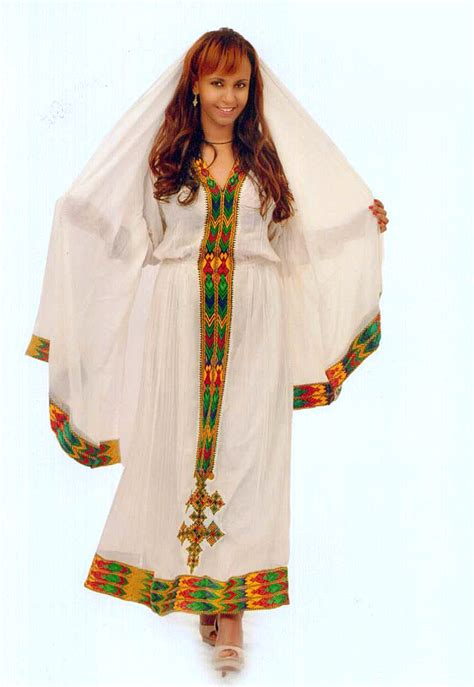 habesha dress zenbaba ዘንባባ ጥልፍ