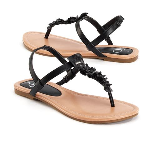 sandals at walmart op s ruffle t sandals shoes walmart