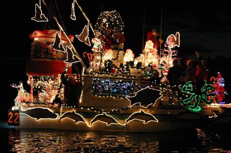 the 2015 30th annual lighted boat parade - Lighted Boat Parade