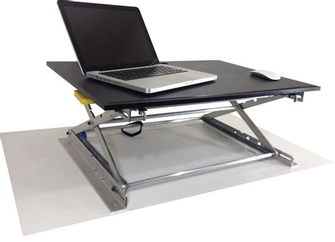 standing desk portable riseup standing desk adjustable and portable sit or