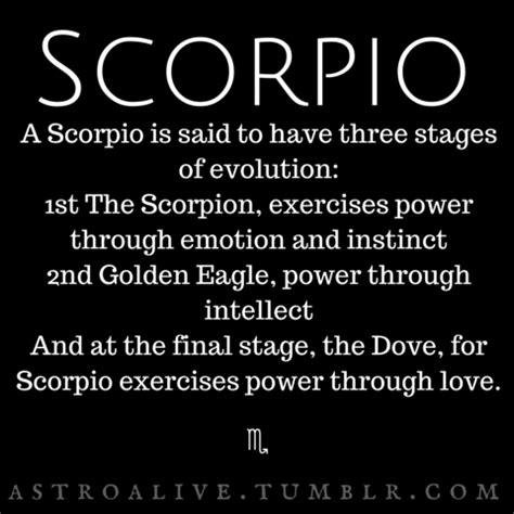 scorpio characteristics tumblr