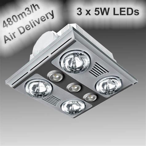 garrison lights ventair garrison z4hls 4 light 3 in 1 heater fan and