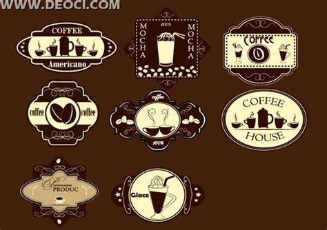 Coffee Label Design Template 8 Coffee Label Design Template Vector Eps File Free Download Deoci Com Vector Templates