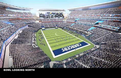 the chargers projekt new chargers stadium stadiony net