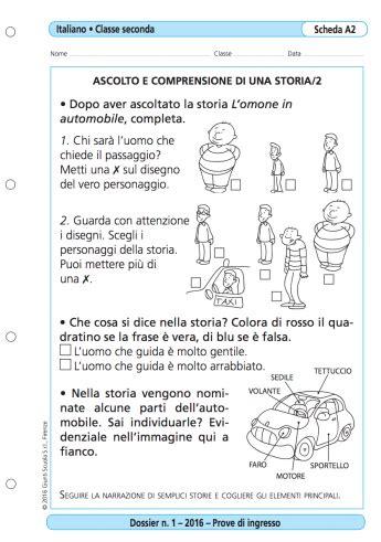 prove d ingresso classe seconda prove d ingresso italiano classe 2 la vita scolastica