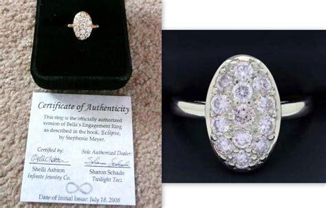 New fashion wedding ring: Bella from twilight wedding ring