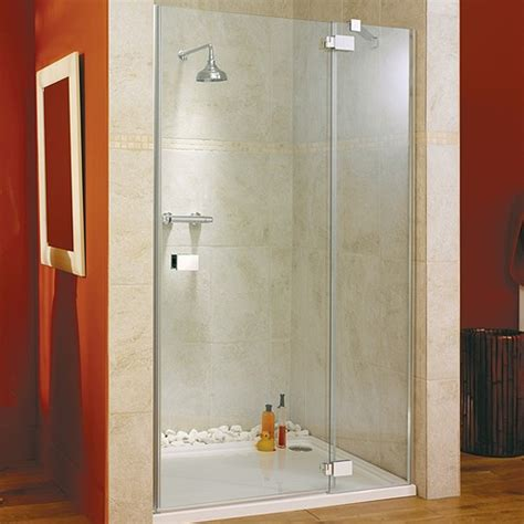 Hinged Shower Doors Hinged Shower Door Glass Panel Right 1400x1950mm Lakes Italia La Vit1400r