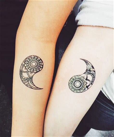 couple yin yang tattoos 55 tattoos ideas