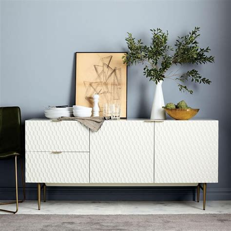 West Elm Rug by Audrey Dining Sideboard Parchment West Elm Uk