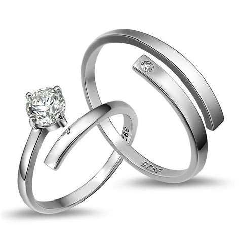 925 sterling silver lover s opening rings price