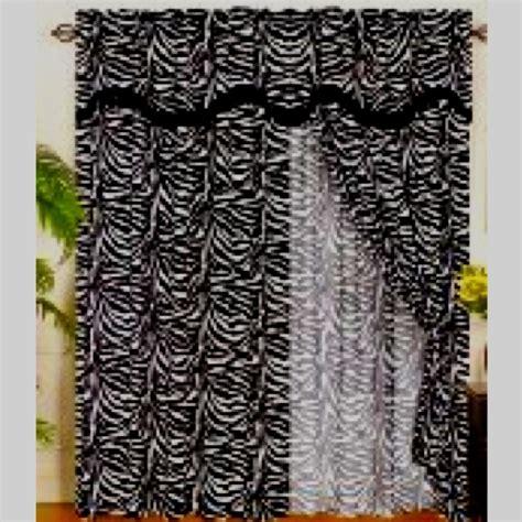 zebra curtains zebra curtains dream home pinterest