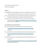 Gaap Vs Ifrs Research Paper by Rwt Rwt1 Business Research And Writing Western Governors