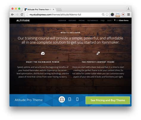 Studiopress Infinity Pro V1 1 2 studiopress altitude pro theme 25 v1 0