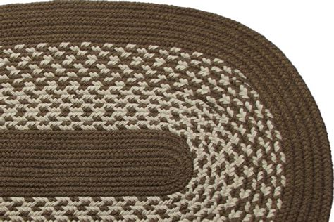 brown braided rug river light brown braided rug