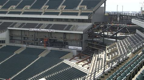 Standing Room Lincoln Financial Field by Checking In On The Linc Project Philadelphia Magazine