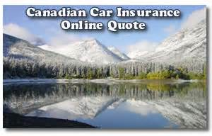 Canadian Car Insurance Online Quote