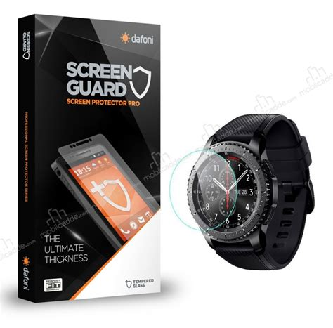 Tempered Glass For Samsung Gear S3 Sikai Premium Tg 1 dafoni tempered glass premium samsung gear s3 ekran