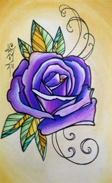 jericho rose tattoo best 10 purple tattoos ideas on colorful