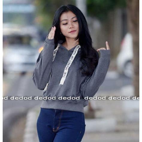 sweater wanita croope tali tulis baby terry shopee indonesia