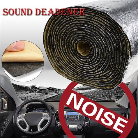 Car Heat Shield Sound Deadener Insulation Deadening Material Mat Alumi 65sqft firewall sound deadener car heat shield insulation