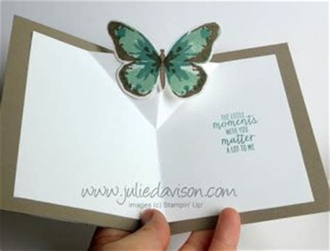 butterfly pop up card template stin up watercolor wings butterfly pop up card