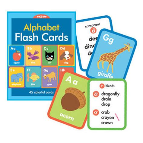 Alphabet Flash Cards For Ages 4 6 School Zone Flash Card alphabet flash cards the rainbow