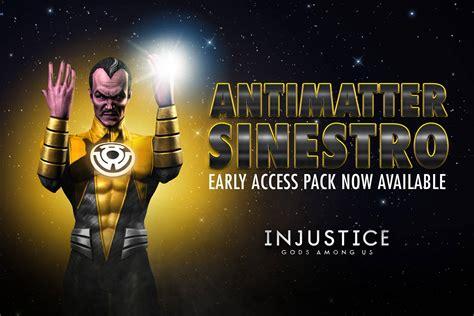 injustice mobile challenge injustice gods among us mobile antimatter sinestro