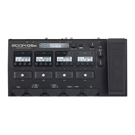 Zoom G5n Guitar Multi Effect zoom g5n multi effects processor for guitarists at