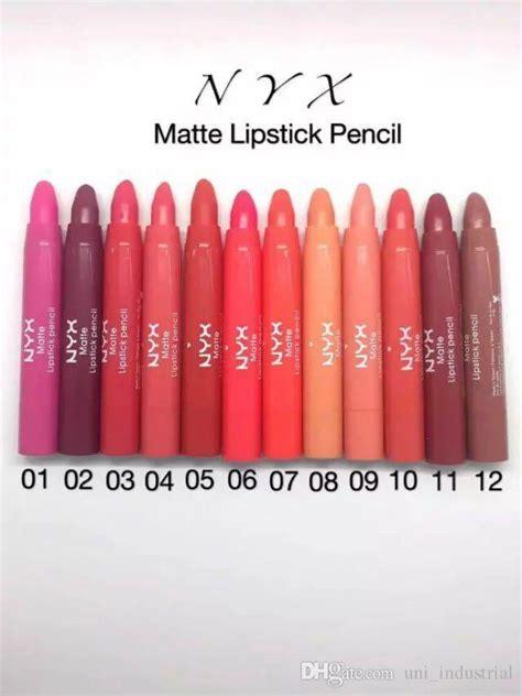 Lipstik Nyx Tutup Pensil Lipstick Nyx Pensil 2073 nyx lipstick pencil matte lipstick pen waterproof lasting lip gloss wholesale dhl