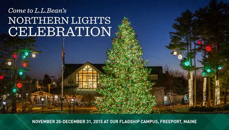 ll bean northern lights northern lights at l l bean in freeport maine