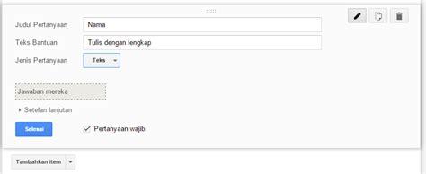 membuat soal dengan google form membuat soal online dengan google formulir anugerah dino