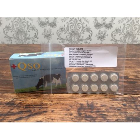 Tablet Rennet microbial rennet cheese tablets