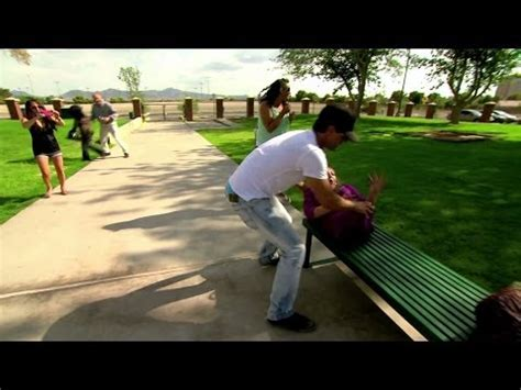 criss angel park bench criss angel does the impossible cool interesting videos
