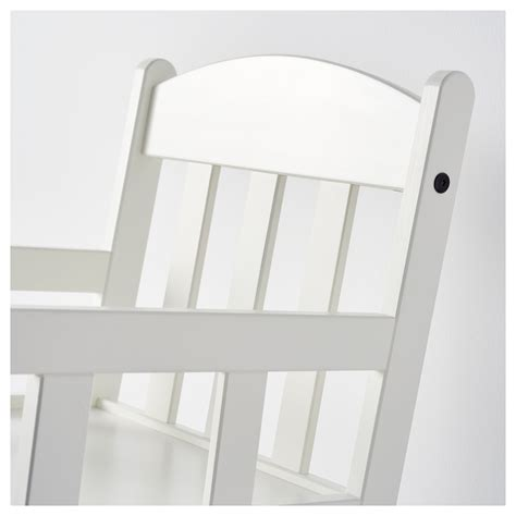 chaise a bascule enfant sundvik chaise 224 bascule enfant blanc ikea