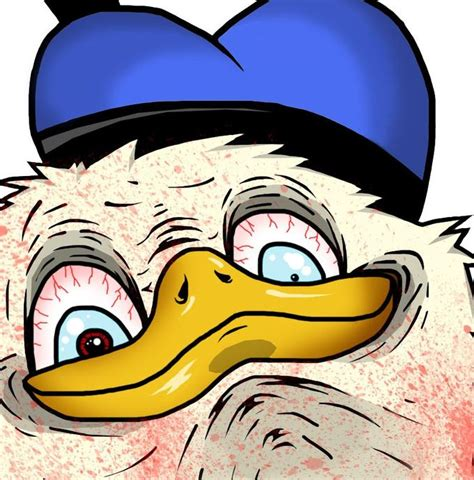 donald duck face meme