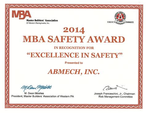 Gase Mba by Awards Events Abmech