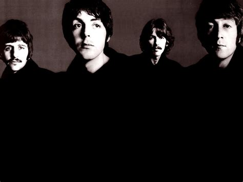 The Beatles Black 1 the beatles wallpapers