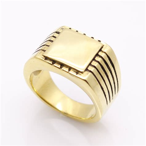stainless steel for jewelry jewelry s high polished signet solid stainless